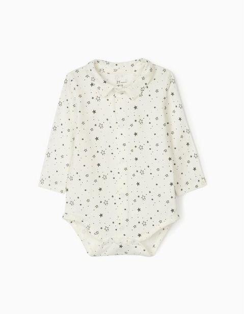 Oferta de Body para Recién Nacido 'Stars', Blanco por 9,99€