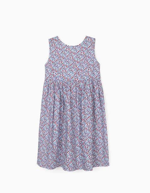 Oferta de Vestido de Flores para Niña, Blanco por 5,99€