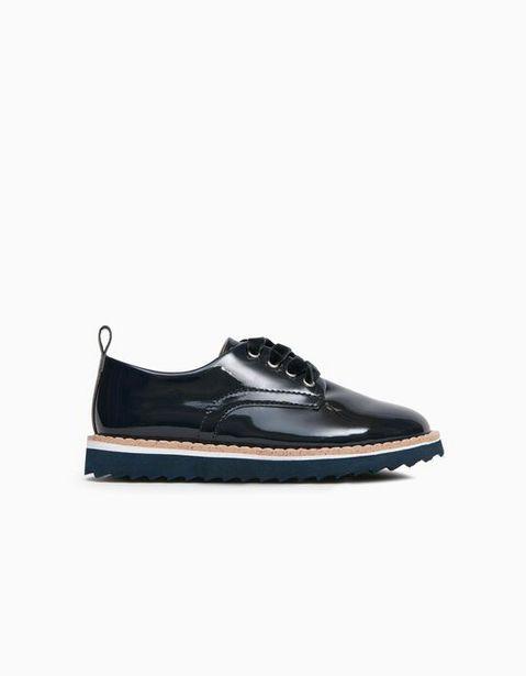 Oferta de Zapatos de Charol para Niña, Azul Oscuro por 29,99€