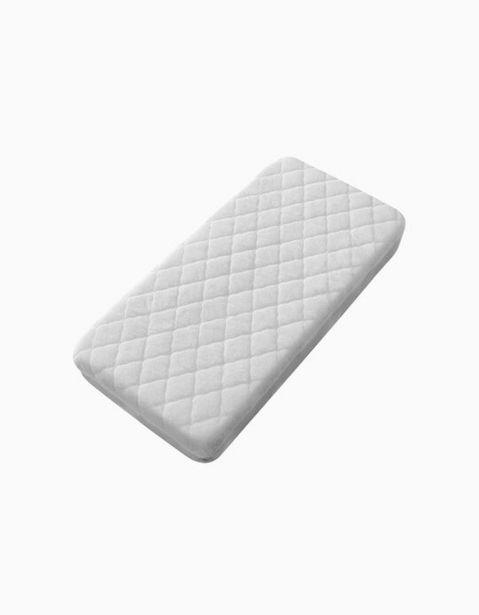 Oferta de Protector De Colchón Para Cuna 85x55cm Interbaby Blanco por 5,59€