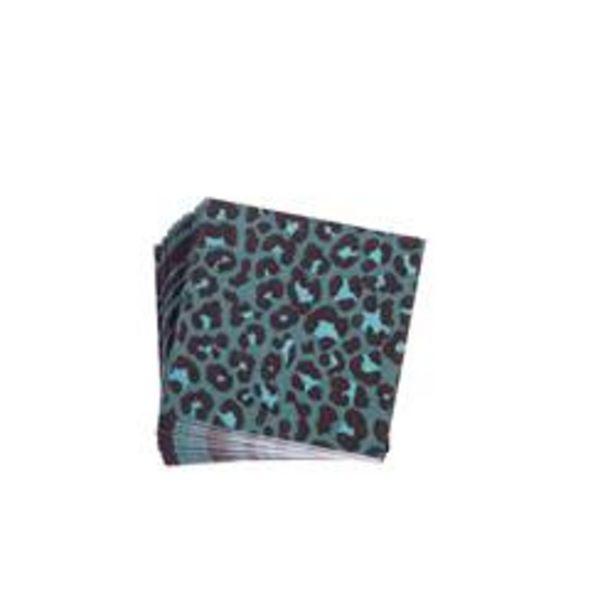 Oferta de JAG BLUE Paquete de 20 servilletas azul An. 25 x L 25 cm por 1,22€