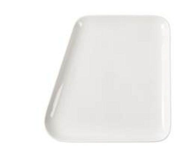 Oferta de POINT. Plato blanco An. 26 x L 26,3 cm por 3,97€