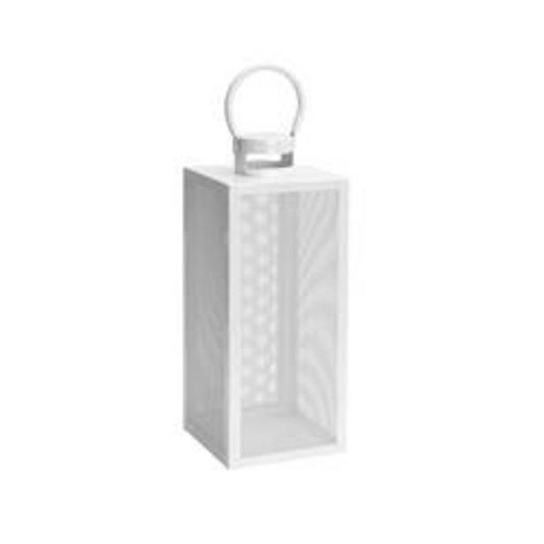Oferta de ABID Farolillo blanco A 40 x An. 17,5 x P 16,5 cm por 13,96€