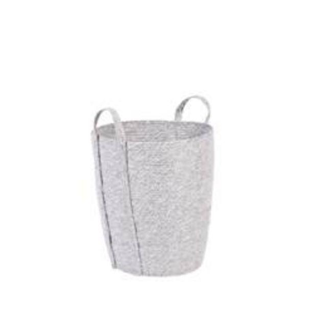 Oferta de SYMPLICITY Cesta gris claro A 39 cm; Ø 35 cm por 24,95€