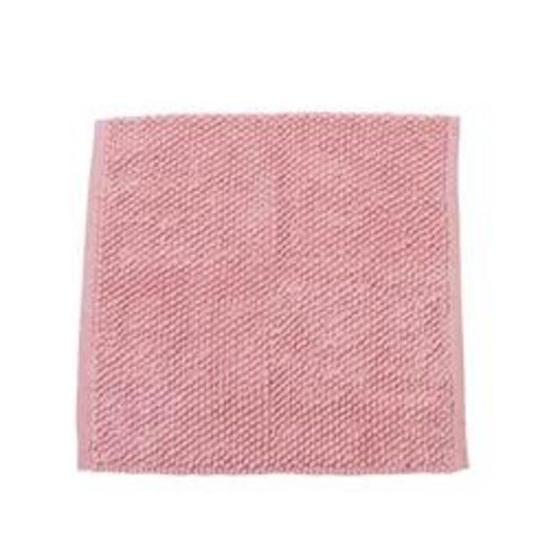 Oferta de KAIA Esterilla de baño rosa, rosa claro An. 60 x L 60 cm por 11,16€