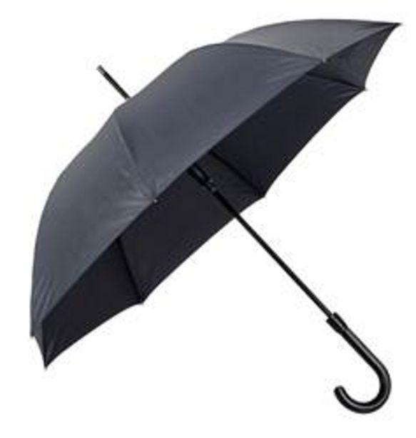 Oferta de CORLEONE Paraguas luxe negro L 114 cm por 12,95€