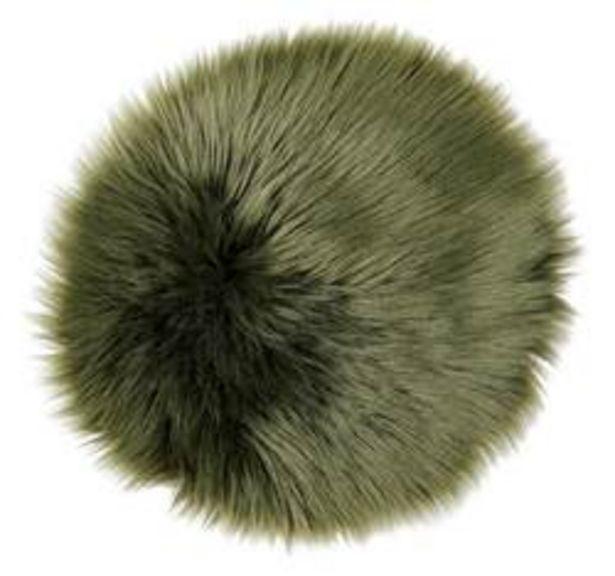 Oferta de FUR Mantel individual verde Ø 32 cm por 4,86€