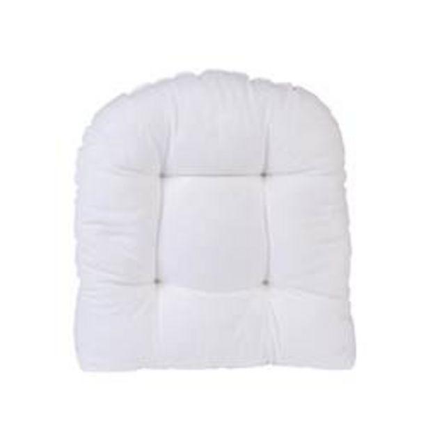 Oferta de BOKRA Cojín para Botang/ sakra silla blanco An. 42 x L 48 cm por 5€