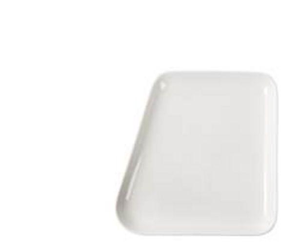 Oferta de POINT. Plato blanco An. 21 x L 21,2 cm por 2,97€