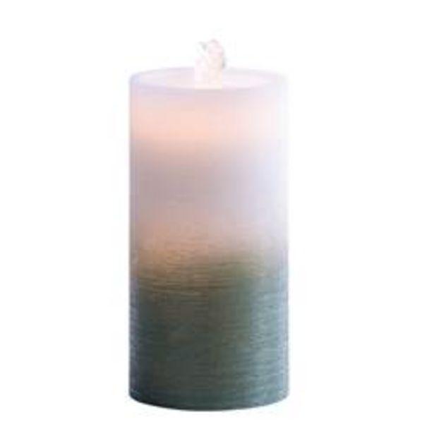 Oferta de CANDLE Fuente con luz verde A 20 cm; Ø 10 cm por 15€