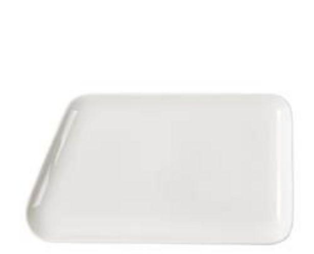 Oferta de POINT. Plato blanco An. 33.4 x L 18.6 cm por 5,97€