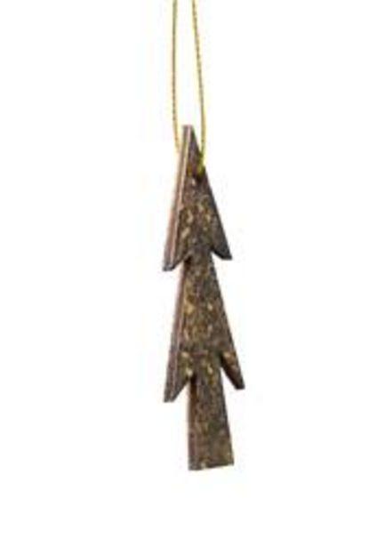 Oferta de GOLD STAIN Decoración para colgar dorado A 8 cm por 0,25€
