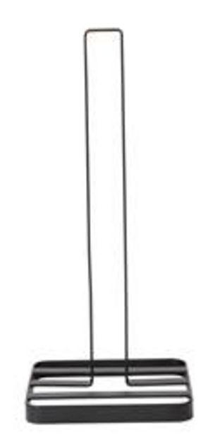 Oferta de INDUSTRIA Soporte de papel de cocina negro A 32 x An. 14 x P 14 cm por 5,95€