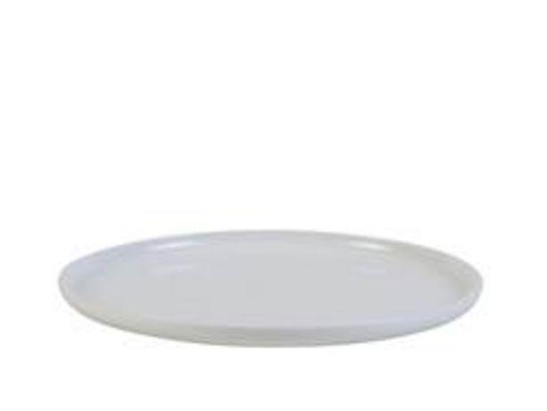 Oferta de MOON Plato llano blanco Ø 25 cm por 4,19€