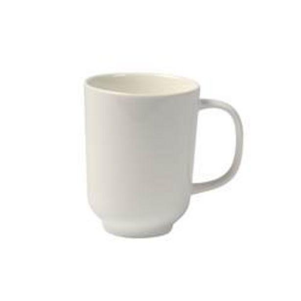Oferta de MOON Taza blanco A 10,3 cm; Ø 8,2 cm por 2,09€