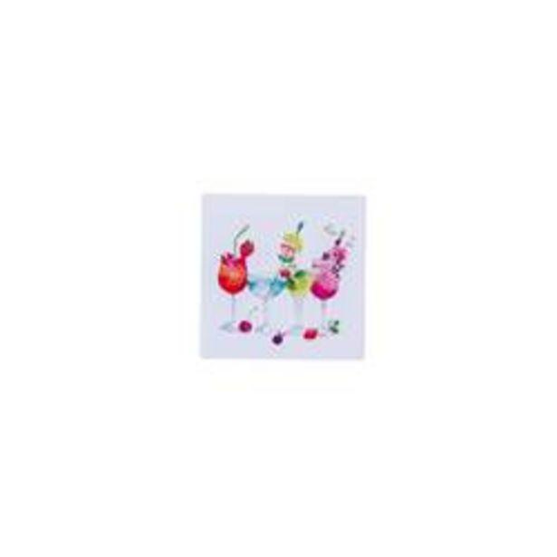 Oferta de BIRTHDAY CHEERS Paquete de 20 servilletas blanco An. 25 x L 25 cm por 0,58€