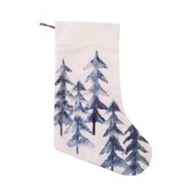Oferta de PINE Calcetín de Navidad varios colores L 40 cm por 3€