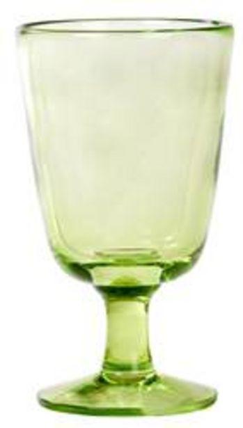 Oferta de TOCCA Copa de vino verde A 14 cm; Ø 8 cm por 3,49€