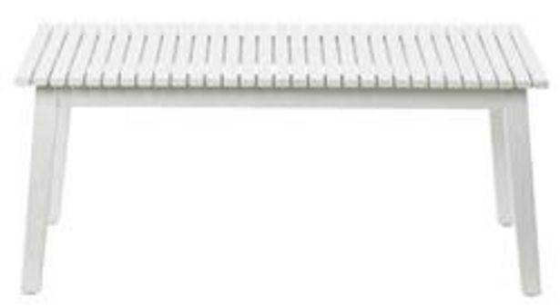 Oferta de CARLOS Banco blanco A 43 x L 99 x P 38 cm por 49,5€