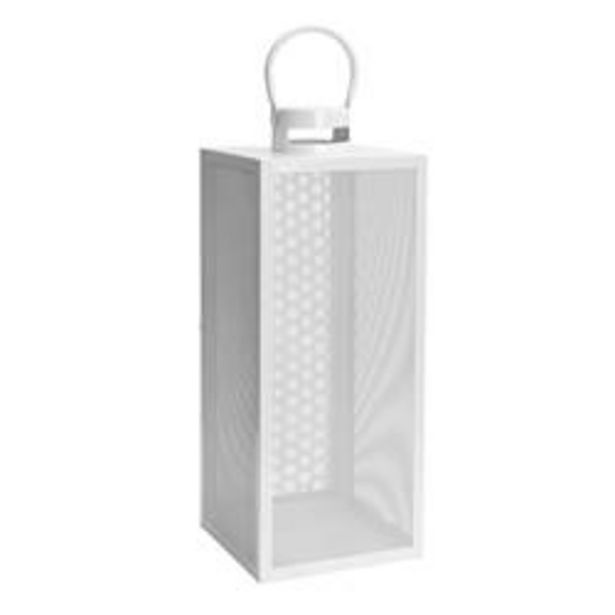 Oferta de ABID Farolillo blanco A 53 x An. 21 x P 20,5 cm por 20,96€
