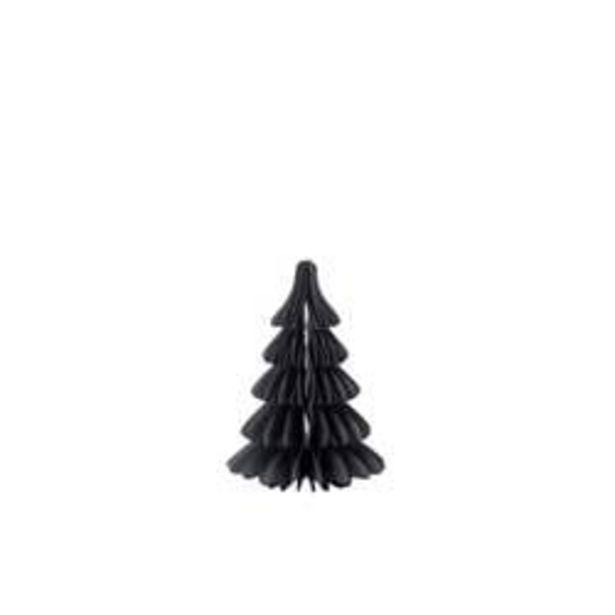 Oferta de FALDO Árbol decorativo negro A 18 cm; Ø 12,5 cm por 2,5€