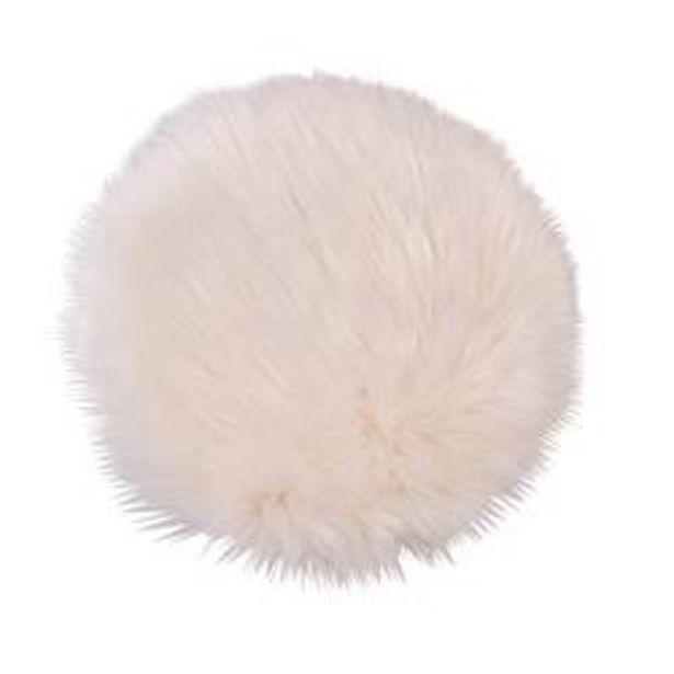 Oferta de FUR Mantel individual blanco Ø 32 cm por 4,86€