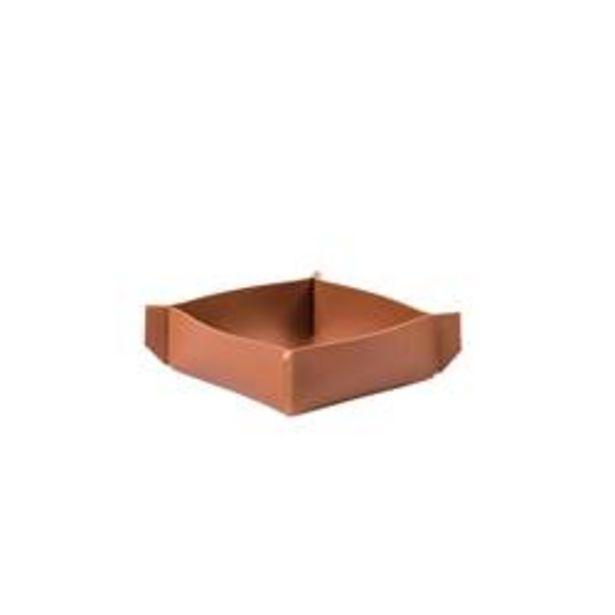 Oferta de NAPPA Servilletero marrón A 4 x An. 12 x L 12 x P 12 cm por 2,95€
