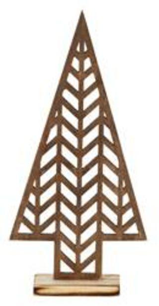 Oferta de ESPINA Árbol decorativo marrón oscuro por 2€
