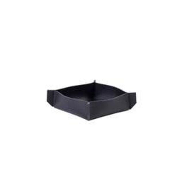 Oferta de NAPPA Servilletero negro A 4 x An. 12 x L 12 x P 12 cm por 2,95€