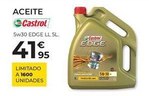 Oferta de Aceite Castrol por 41,95€