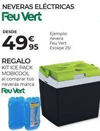 Oferta de Nevera portátil eléctrica Feuvert por 49,95€