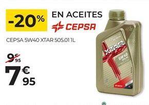 Oferta de Aceite Cepsa por 7,95€