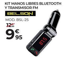 Oferta de Manos libres Belson por 9,95€