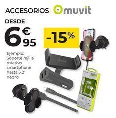 Oferta de Accesorios muvit por 6,95€