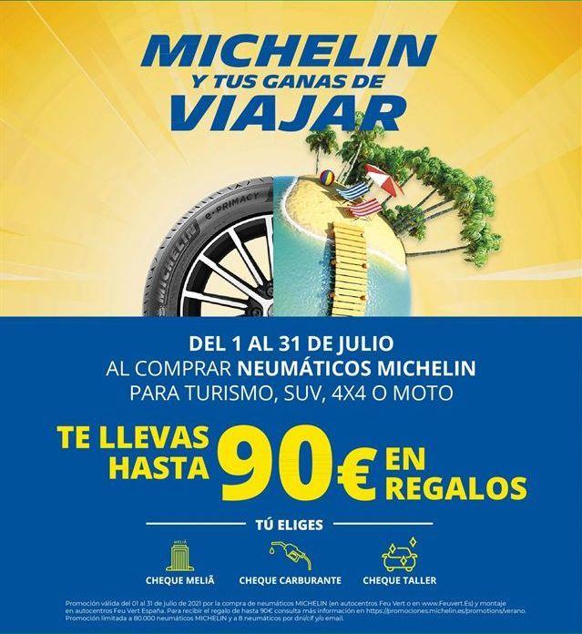 Oferta de Neumáticos Michelin por
