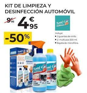 Oferta de Limpieza del coche por 4,95€