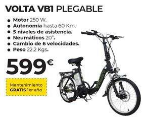 Oferta de Bicicleta plegable por 599€