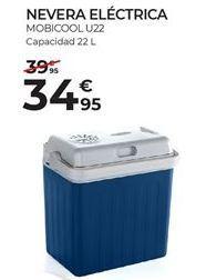 Oferta de Nevera portátil eléctrica por 34,95€