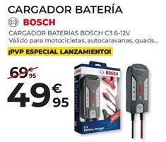 Oferta de Cargador de batería Bosch por 49,95€