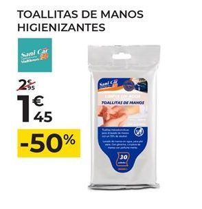 Oferta de Toallitas de limpieza por 1,45€