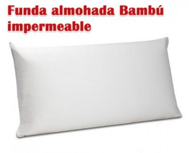 Oferta de Funda de almohada Bambú impermeable FA81 de Pikolin Home por 7,99€