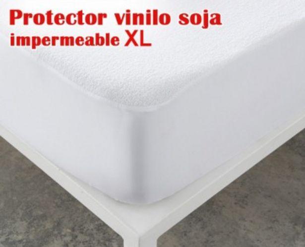 Oferta de Protector de colchón recover impermeable vinilo soja XL de HOME por 16,99€