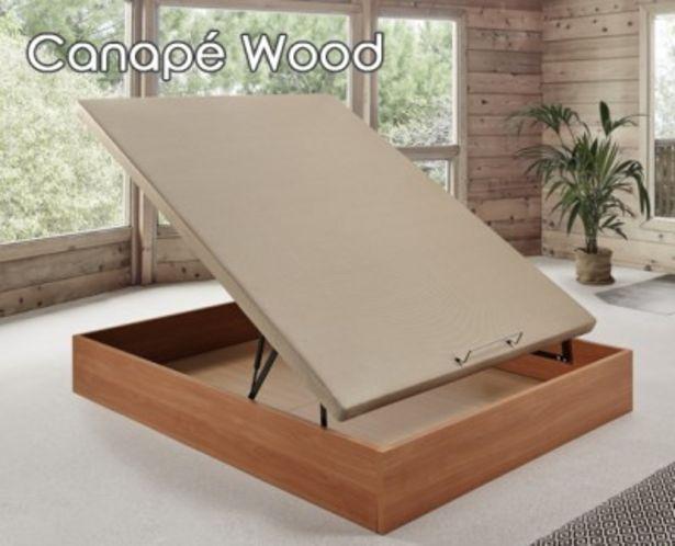 Oferta de Canapé abatible Wood por 289,99€