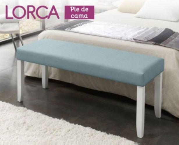 Oferta de Pie de cama Lorca de HOME por 144,99€