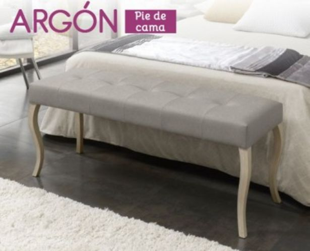 Oferta de Pie de cama Argón de HOME por 159,99€