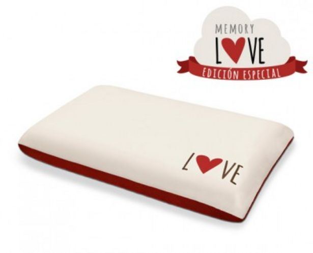 Oferta de Almohada viscoelástica Memory Love por 22,99€
