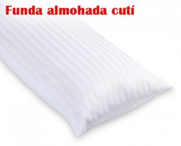 Oferta de Funda de almohada cutí listada de HOME por 5,99€