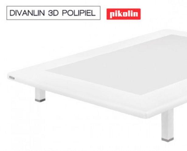 Oferta de Base tapizada Divanlin ecopiel 3D Transpirable de Pikolin por 224,99€