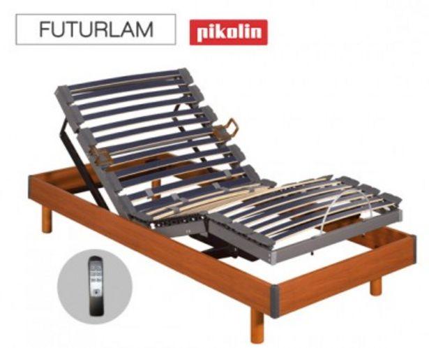 Oferta de Somier de madera inalámbrico Futurlam eléctrico de Pikolin por 1230,99€