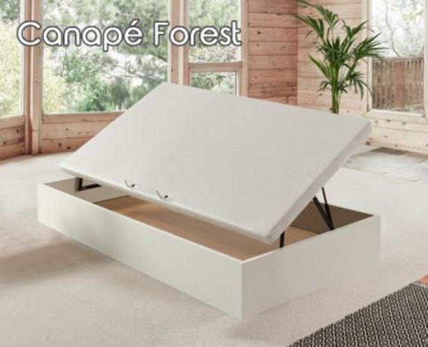 Oferta de Canapé abatible de apertura lateral Forest por 279,99€